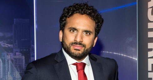 Photograph of Nish Kumar